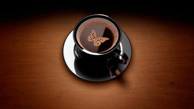 обои креатив кофе арт