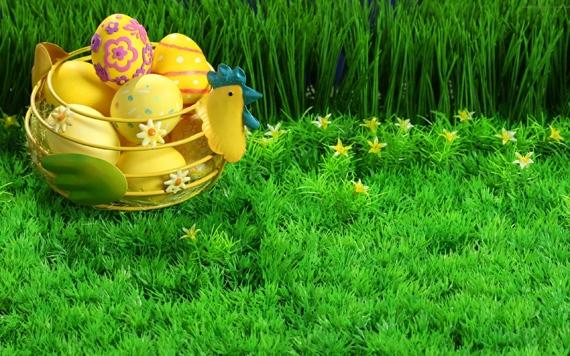 пасха зеленая трава