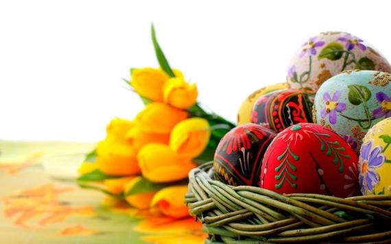 пасхальные яйца расписные