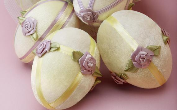 пасхальные яйца ткань