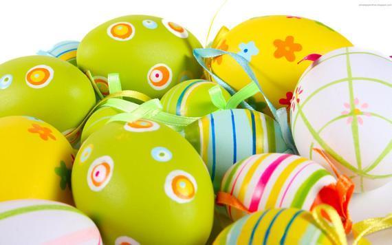 пасхальные яйца красивые