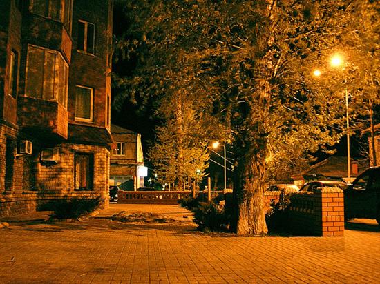 курск ночь