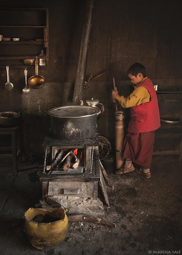 Тибетский чай, долина Тсум