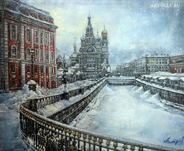Санкт-Петербург художница Юлия Амаги