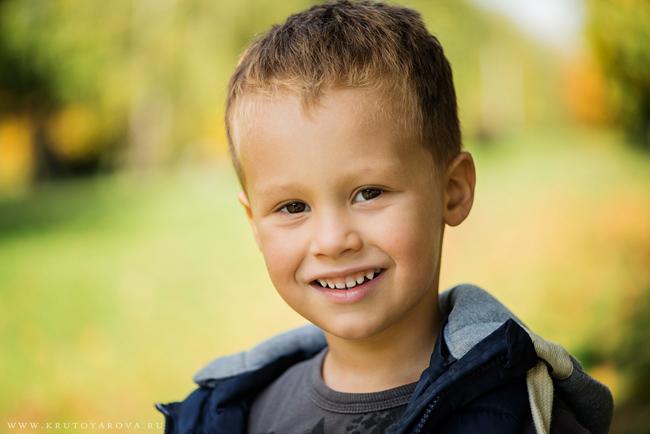 портрет мальчика, фотограф Ирина Крутоярова