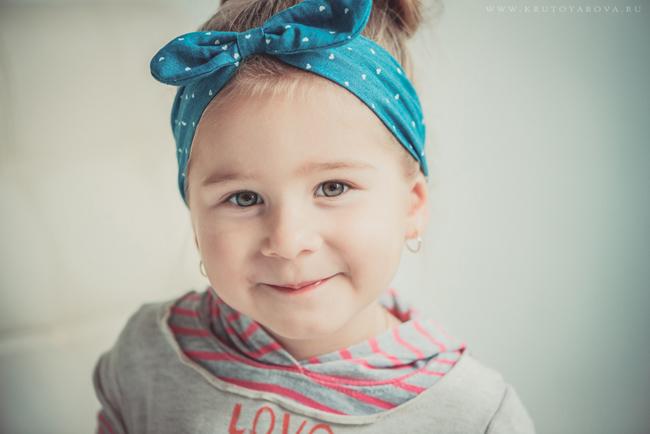 портрет маленькой модницы