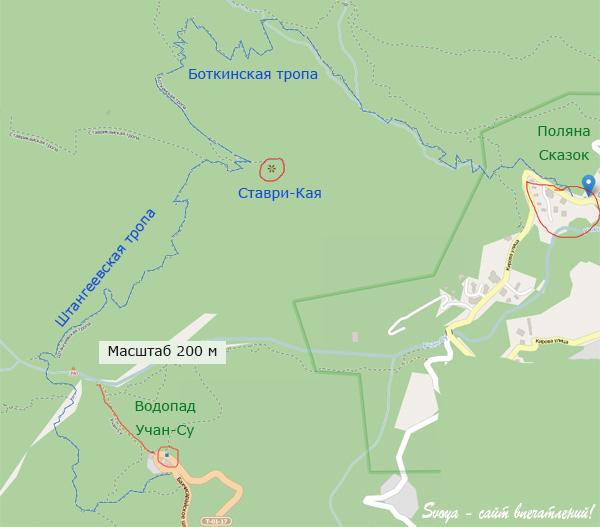 Боткинская тропа маршрут на карте, фото отчет, координаты