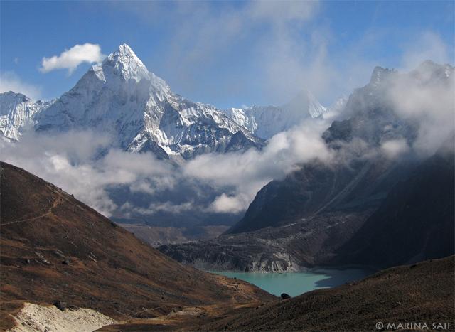 Красивый пейзаж гор