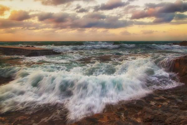 Красота морской пены
