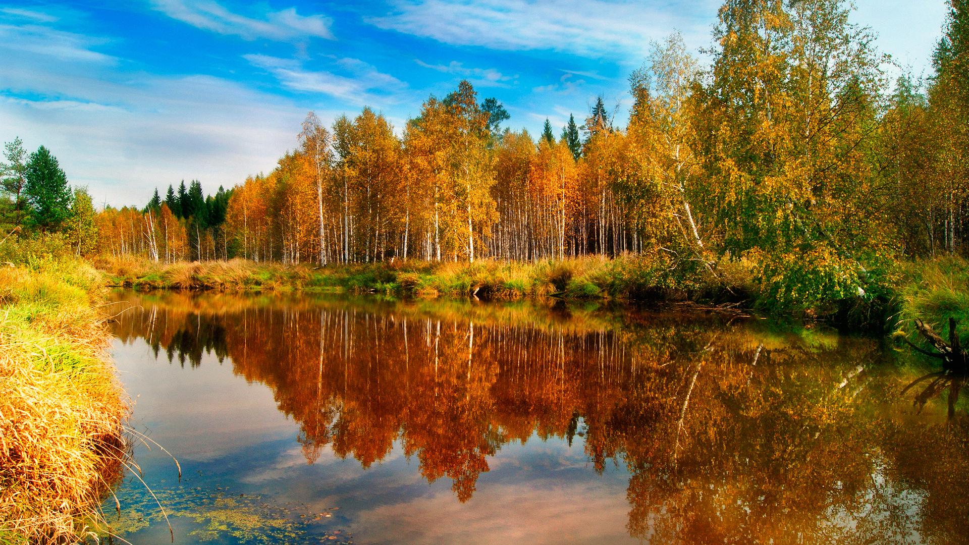 Картинки осень на рабочий стол высокого разрешения