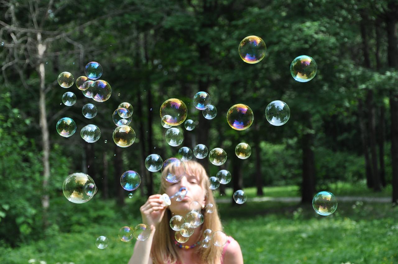 Фото пузырей