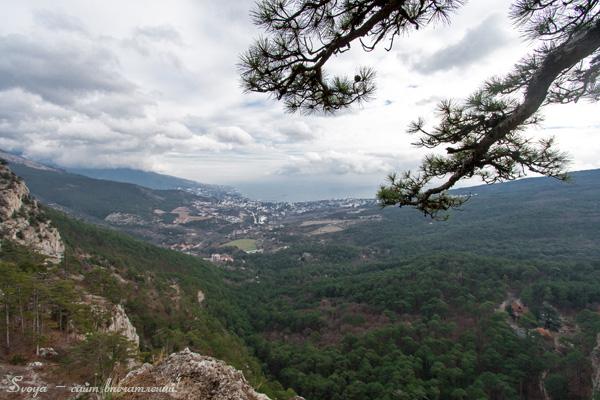 боткинская тропа, пейзаж Крыма